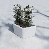 Concrete planter / contemporary / for public areas
