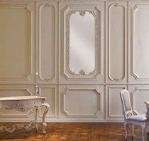 Wall-mounted decorative panel / wood / textured / molding