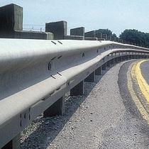 Galvanized steel guardrail / street