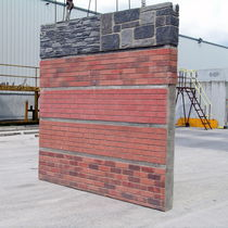 Wall sandwich panel / concrete facing / insulating core