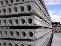 Reinforced concrete precast core floor slab / alveolar