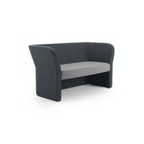 Contemporary sofa / fabric / for public buildings / commercial