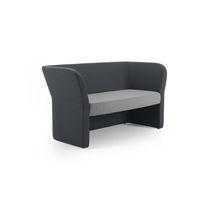 Contemporary sofa / fabric / for public buildings / commercial