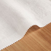 Curtain fabric / plain / linen / satin