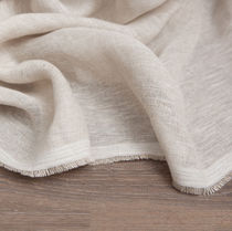 Curtain fabric / plain / linen