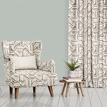 Upholstery fabric / for curtains / geometric pattern / polyester