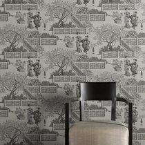 Traditional wallpaper / scenic / washable / non-woven