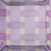 Patterned sheer curtain fabric / Trevira CS®