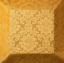 Upholstery fabric / damask / polyester / viscose