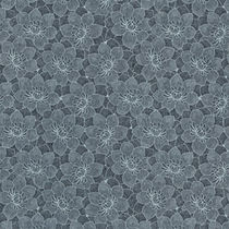 Traditional wallpaper / cellulose fiber / floral