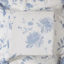 Patterned sheer curtain fabric / linen