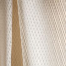 Plain sheer curtain fabric / cotton / polyester