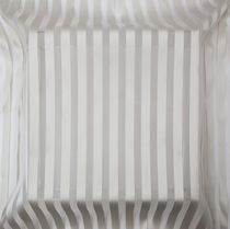 Striped sheer curtain fabric / Trevira CS® / fire-rated