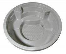 Built-in hot tub / circular / 6-seater