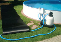 Swimming pool heating thermal collector
