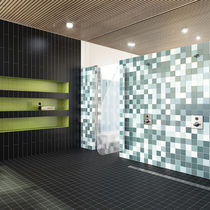 Non-slip tile / bathroom / for floors / porcelain stoneware