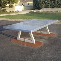 Public space ping pong table