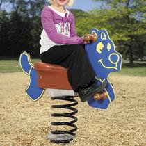 Plastic spring rocker / HDPE / animals / 1-seat