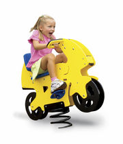 Plywood spring toy / transport / 1-person