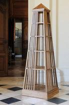 Original design bookcase / teak / varnished wood
