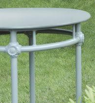 Traditional pedestal table / round / garden