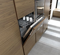 Front-loading dishwasher / built-in