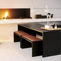 Contemporary table / wooden / rectangular