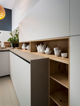 Contemporary shelf / wooden / for kitchens