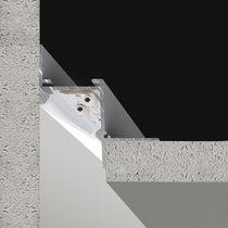Ceiling lighting profile / LED / modular