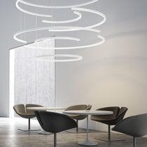 Hanging lighting profile / LED / dimmable / modular
