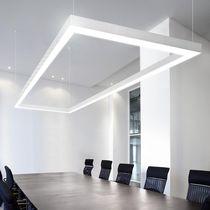 Hanging lighting profile / ceiling / LED / fluorescent