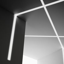Wall-mounted lighting profile / ceiling / LED / fluorescent