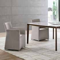 Charming Contemporary Armchair / Leather / Steel / Synthetic Leather