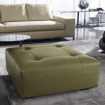 Contemporary ottoman / leather / indoor / by Rodolfo Dordoni
