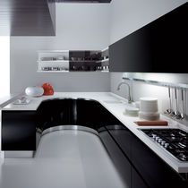 Contemporary Kitchen Laminate Lshaped Lacquered MAXIMA By - Maxima cuisine