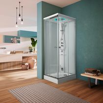 Multi-function shower cubicle / steam / glass / chromotherapy