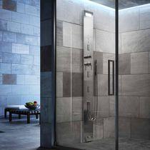 Shower column with hand shower