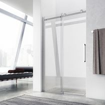 Sliding shower screen / for alcoves