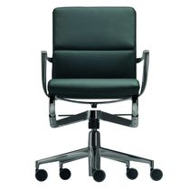 Contemporary office chair / swivel / adjustable / tilting