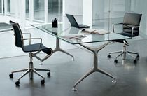 Contemporary office chair / adjustable / on casters / swivel