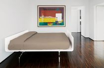 Single bed / double / contemporary / with headboard