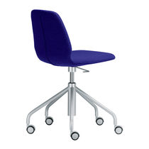 Contemporary office chair / on casters / star base / swivel