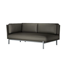 Contemporary sofa / leather / 3-seater / 2-seater