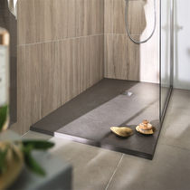 Rectangular shower base / slate