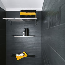 Wall-mounted shelf / contemporary / bathroom