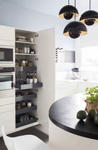 Contemporary kitchen / Corian® / laminate / U-shaped