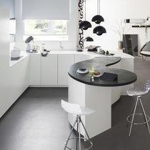 Contemporary kitchen / Corian® / laminate / U-shaped