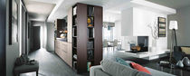 Contemporary kitchen / wood veneer / oak / laminate