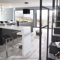 Contemporary kitchen / slate / quartz / Corian®