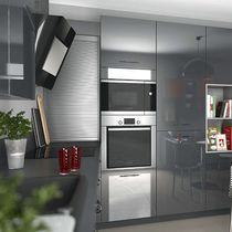 Contemporary kitchen / laminate / U-shaped / high-gloss